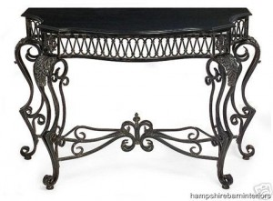 Marble Antique Style Console Table