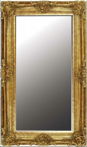 Ornate Gold Gilt Mirror