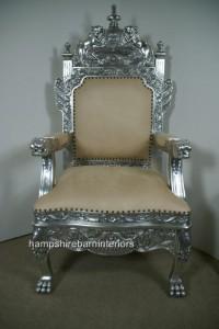 Huge Royal Throne Chair