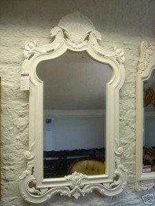 Ornate Shell Mirror