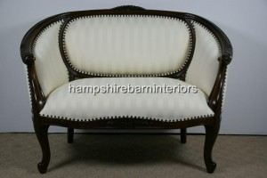 Small Two Seater Regency Sofa