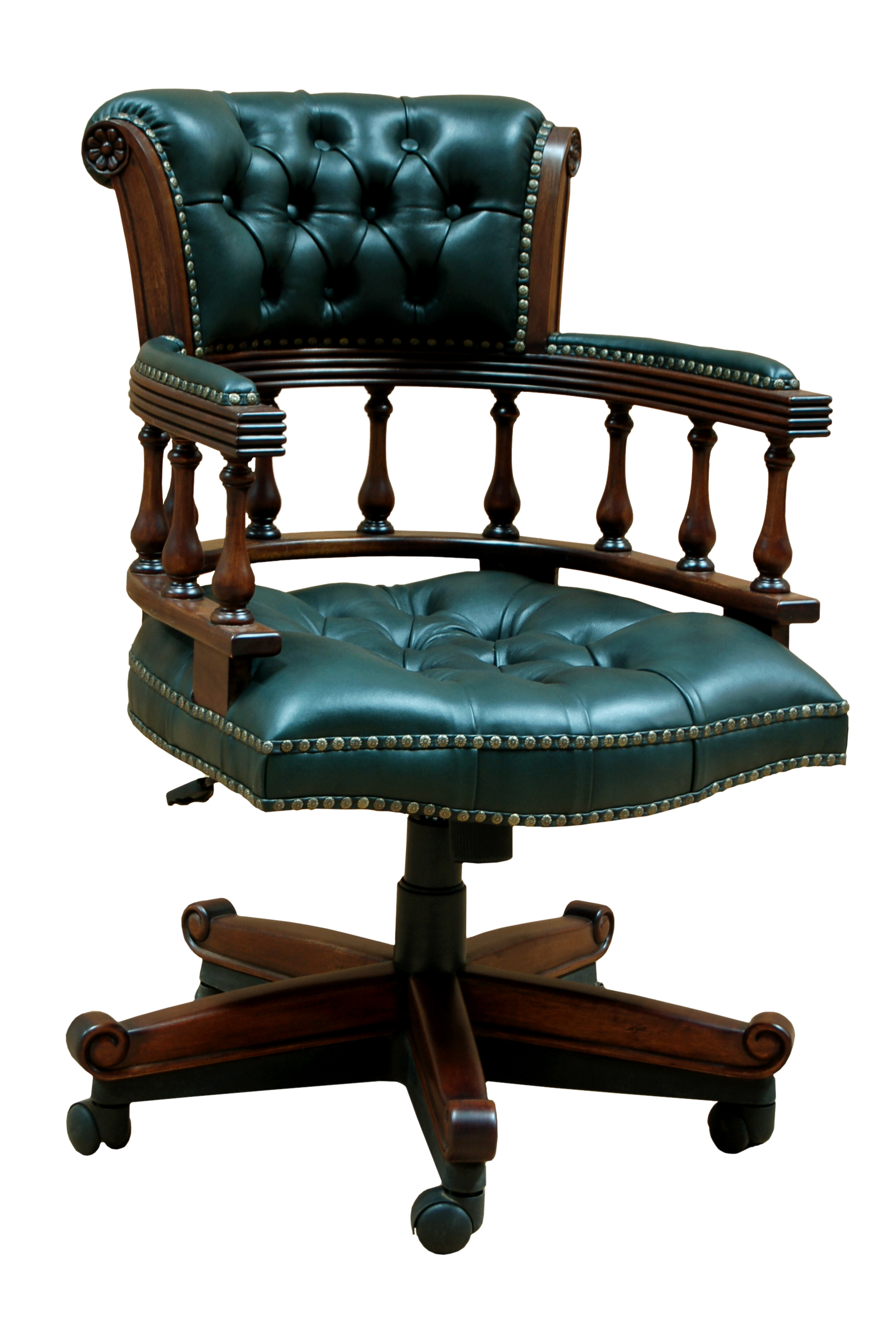 Captain Swivel Desk Chair Hampshire Barn Interiors