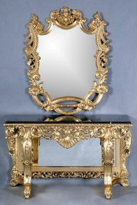 Edinburgh Console Table w. Mirror