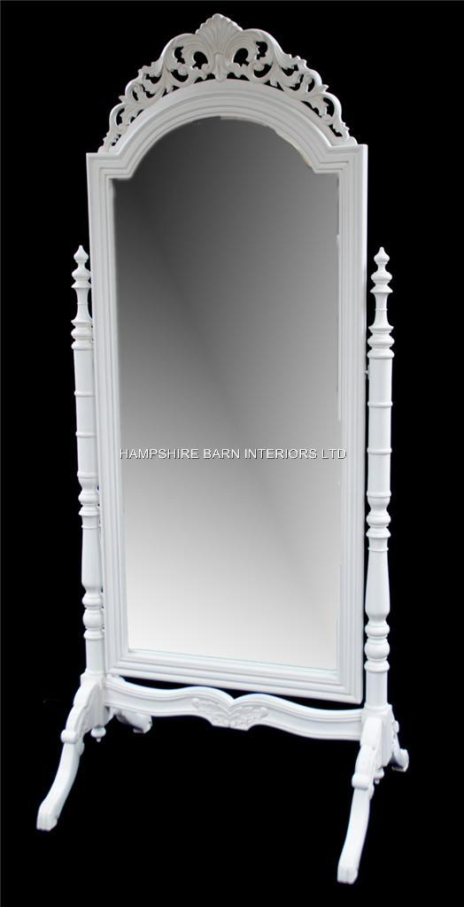 Hair Style Mirror : French Chateau Style Ornate Cheval Dressing Long Mirror in Antique ...
