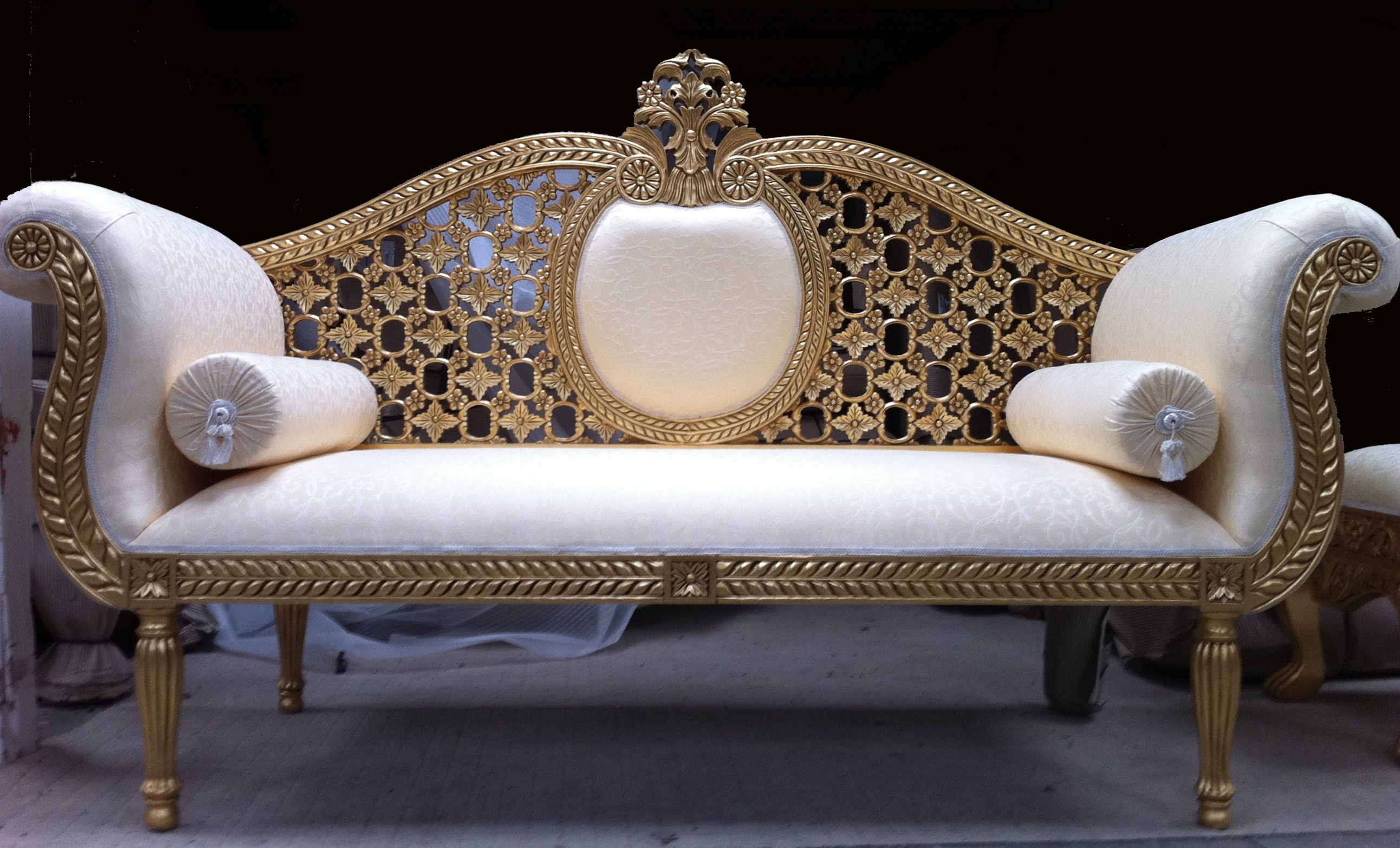 Aa1 Alto Wedding Stage 3 Piece Suite Ornate Gold Leaf