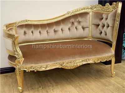 Small chaise longue hampshire barn interiors part 2 for Annabelle chaise