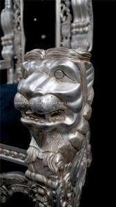 THRONE LION KING SILVER LEAF BLACK VELVET CRYSTALS.jpg1.jpg2