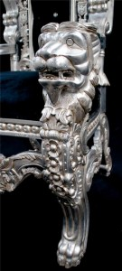 THRONE LION KING SILVER LEAF BLACK VELVET CRYSTALS.jpg1.jpg4
