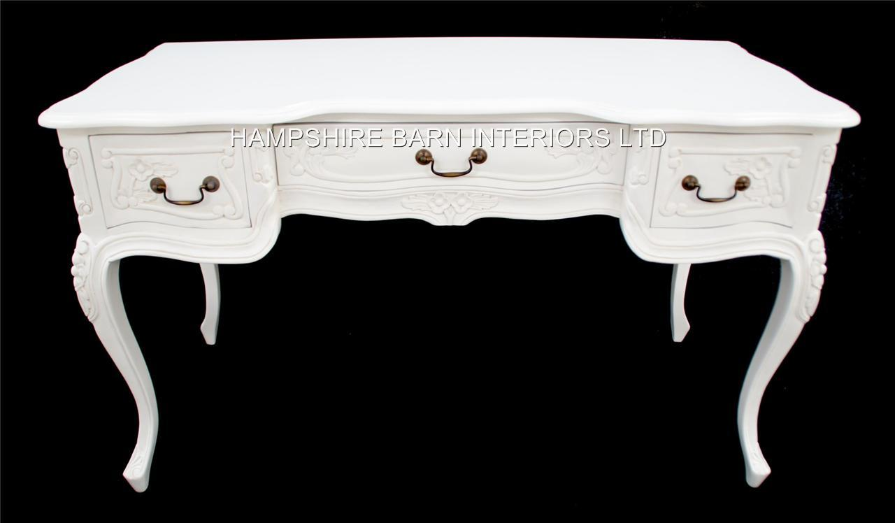 Chateau French Style White Table Can Be Used As Desk