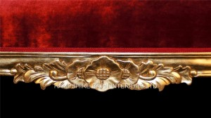 gold large ornate hampshire chaise longue red velvet by hampshire barn interiors1