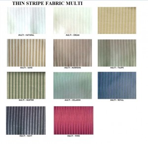 THIN STRIP FABRIC MULTI