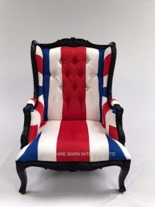 UNION JACK ARM CHAIR