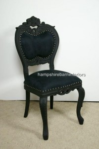 Black Beauty Occasional Chair