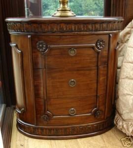 Solid Mahogany Bedside Cabinet