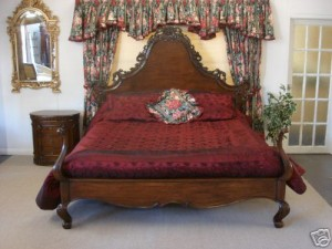 French Antique Style Bed