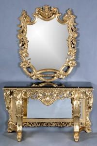 Edinburgh Console Table w. Mirror