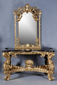 Dorcester Console Table w. Mirror