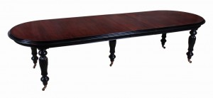 Oval Fluted Dining Table