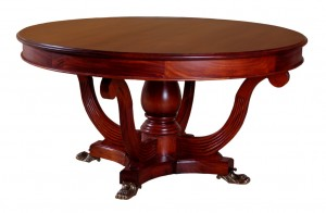 Round Regency Table