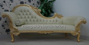 chaise-longue-large-gold-leaf-ornate-cream-faux-leather