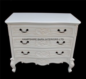 chateau white french painted