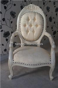 wedding stage set chair antique white
