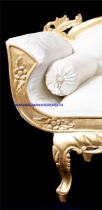 royal palace wedding set gold and ivory cream one sofa and two thrones all highly carved from mahogany.4
