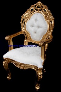 royal palace wedding set gold and ivory cream one sofa and two thrones all highly carved from mahogany.9