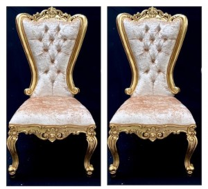 wedding thrones AA11 MAYFAIR GOLD BARLEY